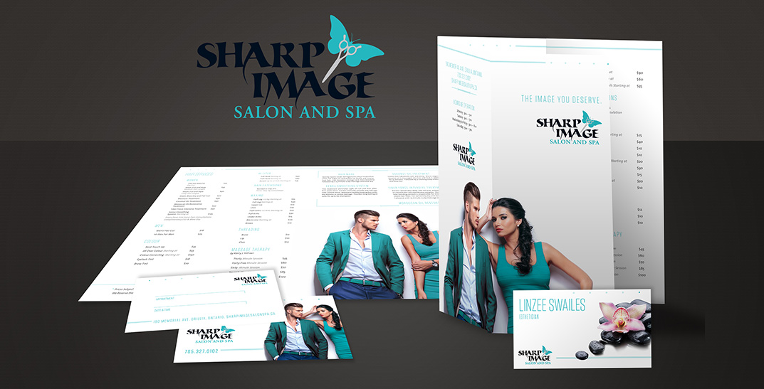 Sharp Image Branding and Design