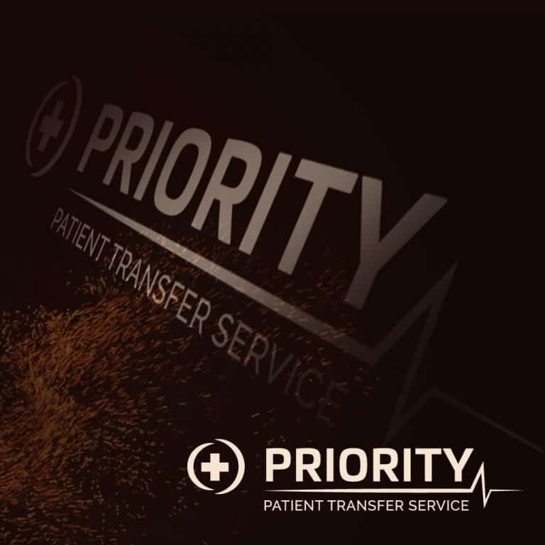 Company Branding for Priority Patient Transfer Services